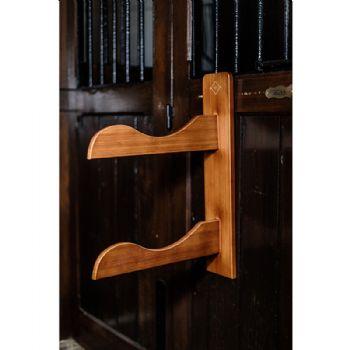 Kentucky Grooming Deluxe Wooden Saddle Rack